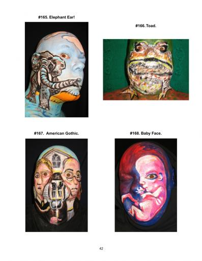 James Kuhn Painted Face
